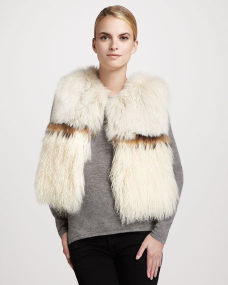 Fox Fur/Lamb Vest