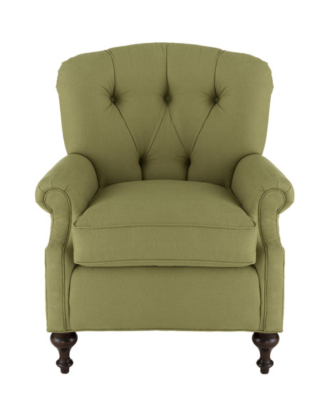 Iva Tufted Back Chair