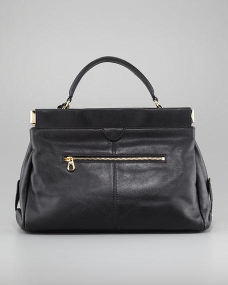 Priscilla Large Framed Satchel Bag