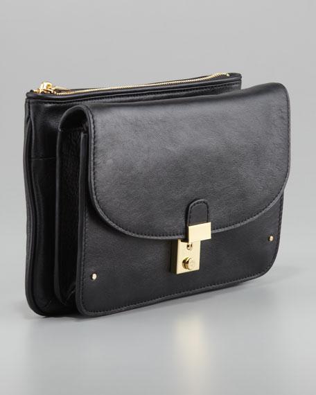 Priscilla Clutch Bag, Black