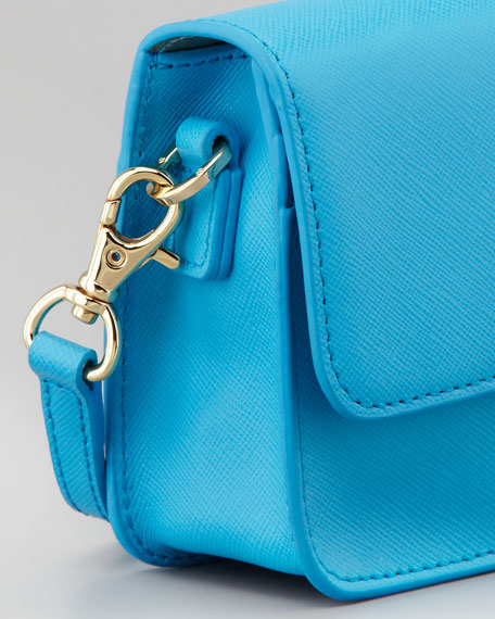 Robinson Mini Crossbody Bag, Tahitian Turquoise