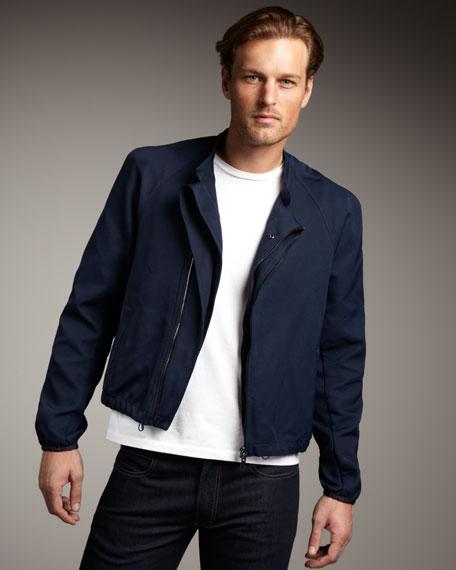 Asymmetric Zip Jacket