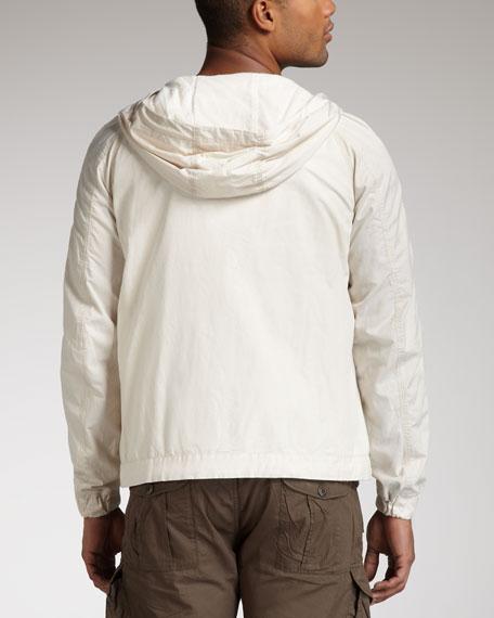 Jaylinter Leather-Trim Jacket