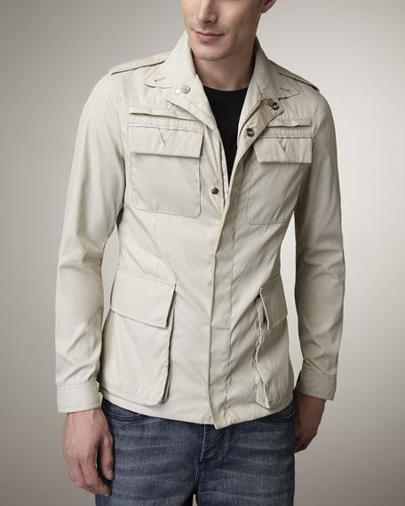 Nylon Safari Jacket