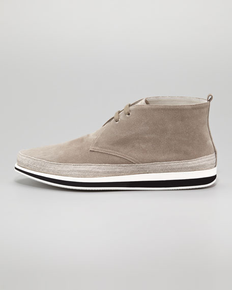 Suede Chukka Boot, Stone
