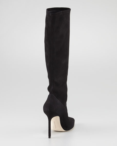Pascalare Tall Stretch Suede Boot