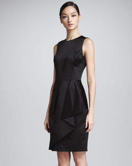 COTTON CDUCHESSE DRESS