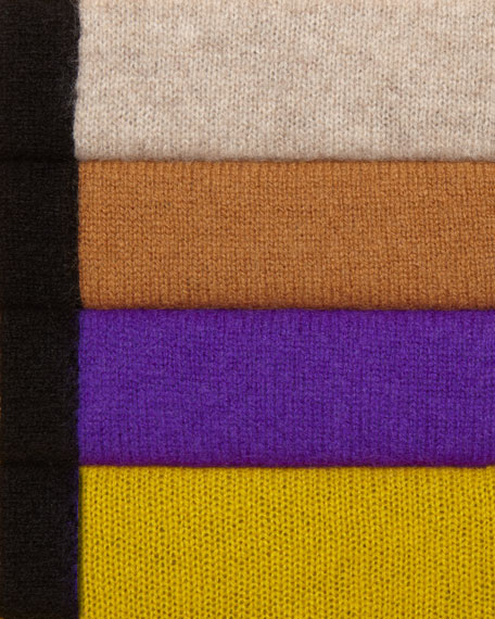 Two-Tone Cashmere Shawl
