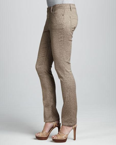 Saddie Cheetah Print Jeans