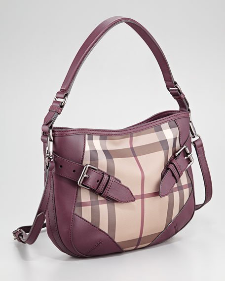 Smoked Check Crossbody Bag