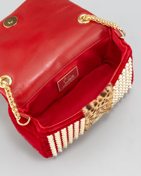 Sweet Charity Velvet Shoulder Bag