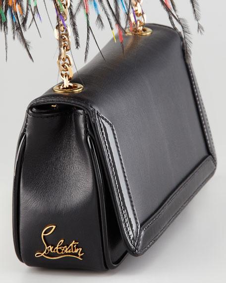 Artemis Ostrich Feather Shoulder Bag