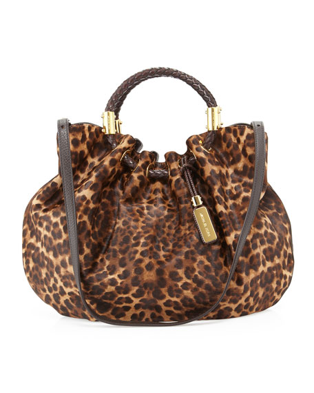 Skorpios Haircalf Ring Tote