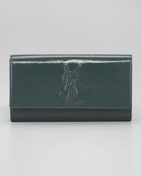 Belle De Jour Patent Clutch Bag