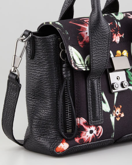 Pashli Floral Mini Satchel Bag