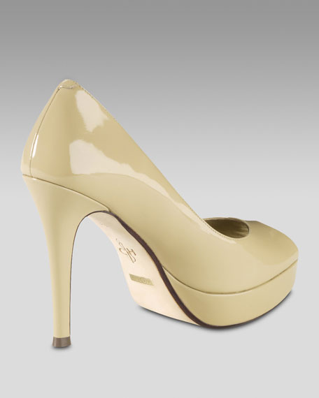 Mariela Air Patent Pump, Nougat