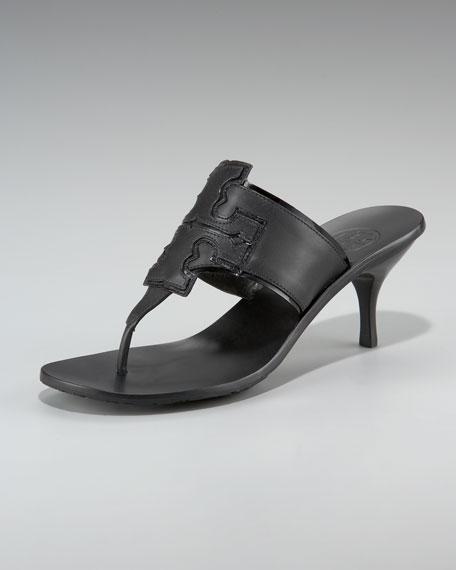 Christine Kitten-Heel Thong Sandal