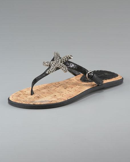 Frankie Starfish Flat Thong Sandal