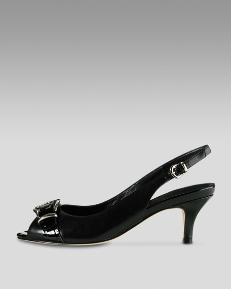 Air Lainey Open-Toe Slingback