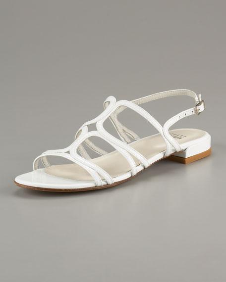 Patent Leather Slingback Sandal