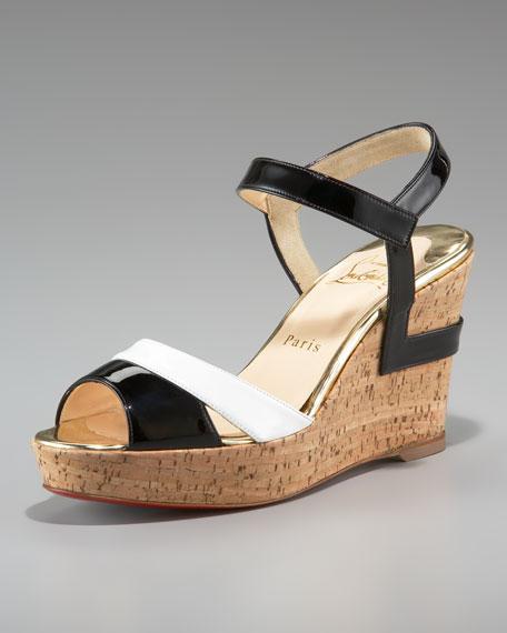 Carteron Cork Wedge Sandal