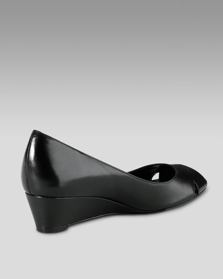 Air Talia Open-Toe Wedge