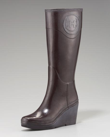 Hunter Boot Crest Wedge Rain Boot