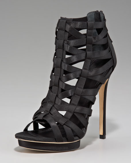 Strappy Cage Sandal