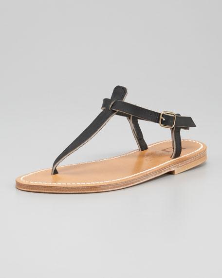 Slingback Thong Sandal