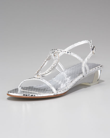 Jeweled Sandal