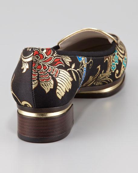 Little Emperor Brocade Loafer