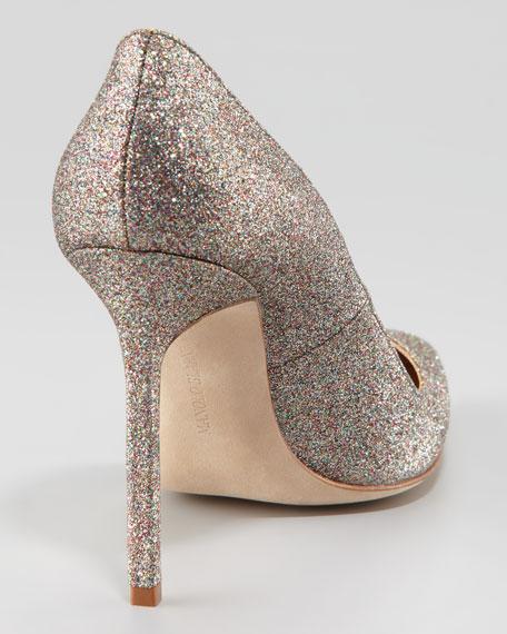 BB Glitter Pump, Silver