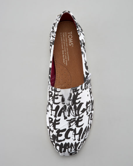 Be the Change Slip-On