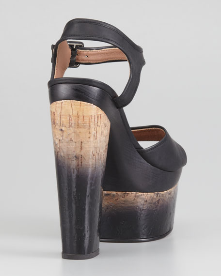 Evelyn Degrade-Heeled Sandal