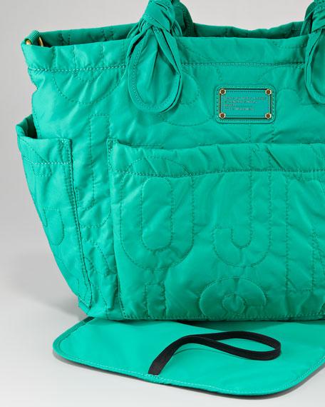 Pretty Eliza Baby Bag, Parrot Green
