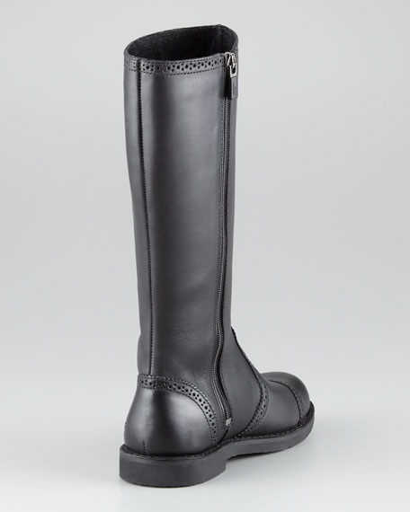 Kid Maisie Tall Leather Boot
