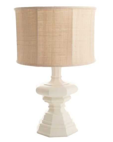Barbara Cosgrove White Quot Barcelona Quot Lamp