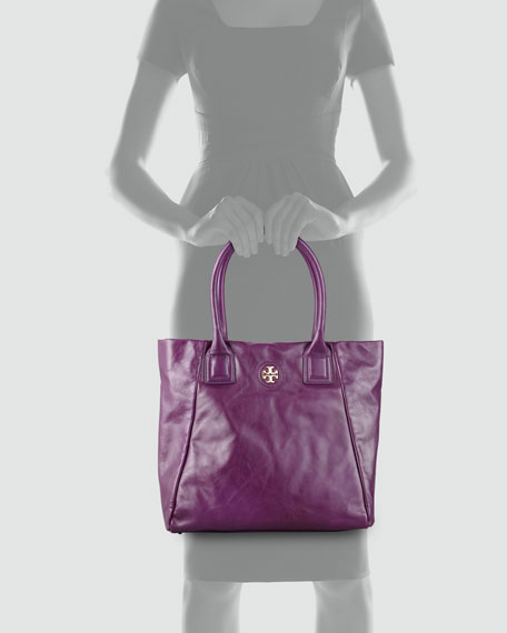 City Tote Bag, Purple Dream