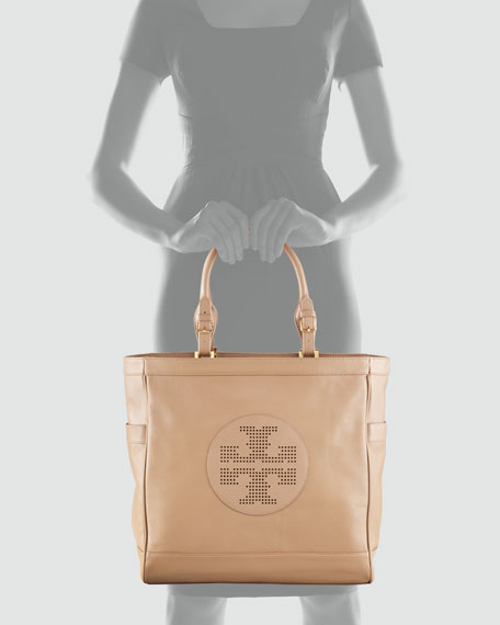 Kip Pebbled Leather Tote Bag