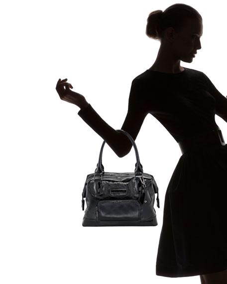 334baedb11e5 Longchamp Legende Verni Medium Satchel Bag