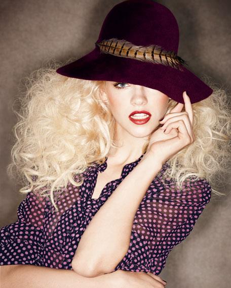 Carly Boho Cloche Hat