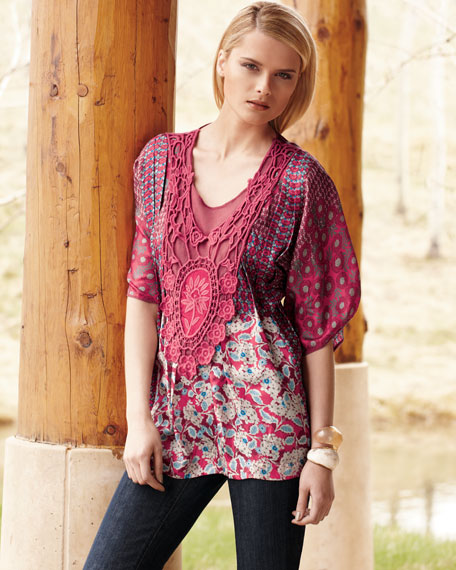 Floral Medallion Tunic