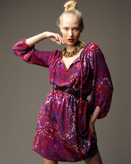Moonraker Printed Dress