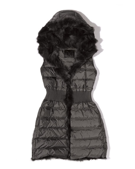 Jemma Fur-Trim Vest