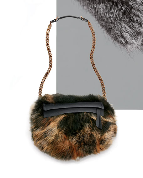Fur Trousse Shoulder Bag