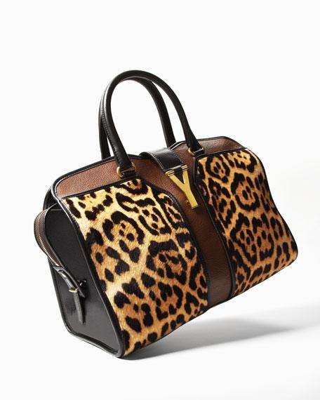 Leopard-Print ChYc E/W Bag