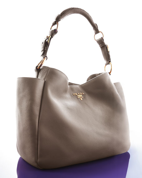 Vitello Daino Pocket Hobo Bag