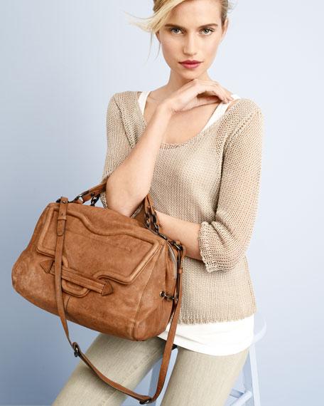 Grove Leather Satchel Bag