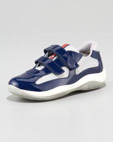 Prada Double-Strap Sneaker