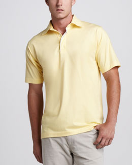 Ermenegildo Zegna Stretch-Knit Polo